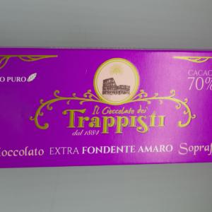 Cioccolato extra fondente amaro sopraffino
